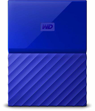 Picture of Western Digital  my passport 1TB Blue