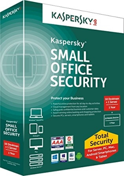 Picture of Kaspersky Small Office Security (10 PCs + 1 Server )