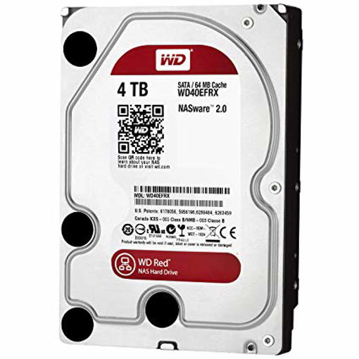 Picture of Western Digital  PC 4TB  RED