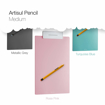 Picture of artisul sketchpad with pen (medium) 906M