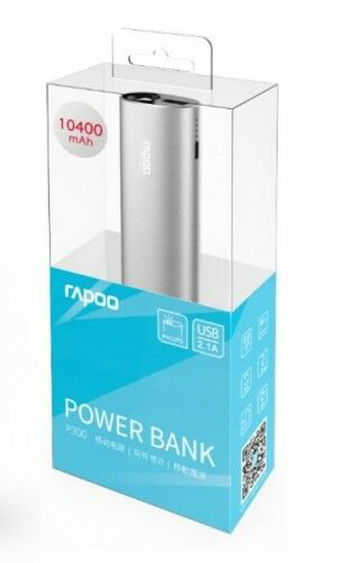 Rapoo Power Bank-10400 mAh-P300