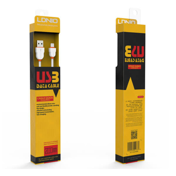 LDNIO-Cable Charge - LS02 USB 2 M