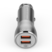 LDNIO C407Q 2 USB Port Phone Car Charger Support