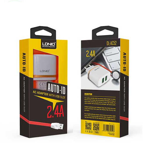 LDNIO-Home Charge- 2USB 2.1A - AC52