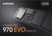 Samsung 970 EVO Plus Series -500GB PCIe NVMe - M.2 Internal SSD