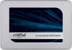 "Crucial MX500 250GB SATA 2.5"" 7mm (with 9.5mm adapter) Internal SSD"