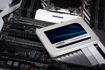 """Crucial MX500 250GB SATA 2.5"""" 7mm (with 9.5mm adapter) Internal SSD"""