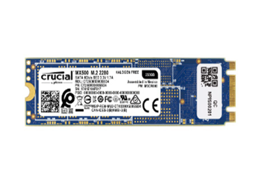 Crucial MX500 250GB 3D NAND M.2 Type 2280 Internal SSD