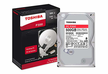 Toshiba P300 500GB Internal Hard Drive