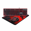 Redragon S107 Gaming Keyboard, Mouse, Mouse pad, Mechanical Feel 104 Key RGB LED