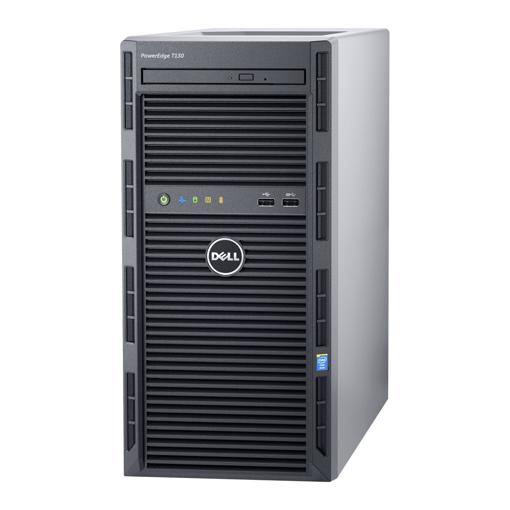 Dell PowerEdge T130 Tower Server E3-1240 v6