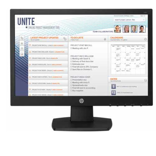 HP V197 LED 18.5 Monitor