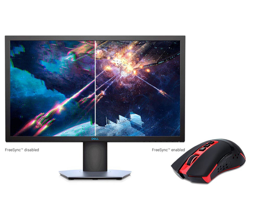 Picture of Dell S2419HGF  Gaming Monitor + redragon M692