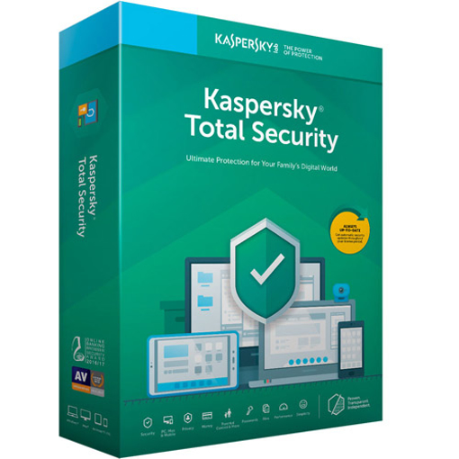 Kaspersky Total Security (1 User )Multi Devices