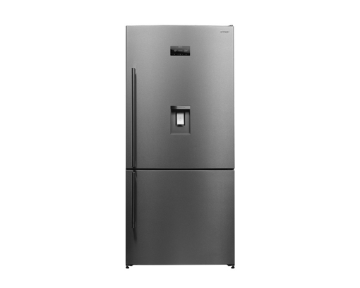 Picture of SHARP Refrigerator Digital No Frost 565 Liter ( SJ-BG725D-SS ) + SHARP Microwave 25 Litre White Color ( R-750MR(W)