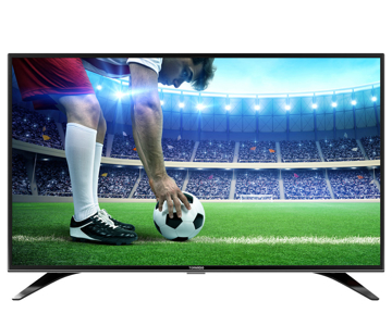 Picture of TORNADO LED TV 43 Inch Full HD with Built-In Receiver, 2 HDMI and 2 USB Inputs(  43ER9500E )