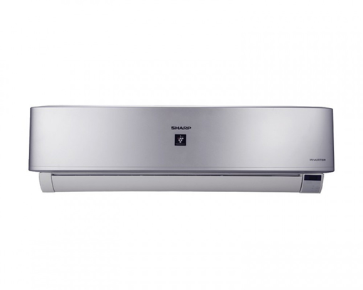 Picture of SHARP Split Air Conditioner 1.5HP Cool - Heat Inverter Digital With Plasmacluster In Silver Color AY-XP12UHE
