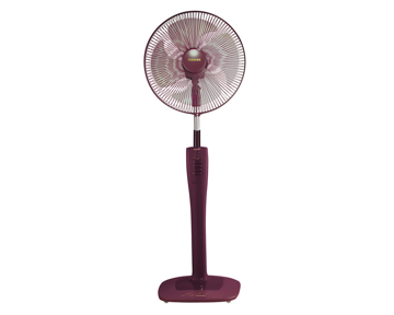 Picture of TOSHIBA Stand Fan 16 Inch With 4 Plastic Blades and 3 Speeds In Grey Or Maroon Color EFS-74(PS)
