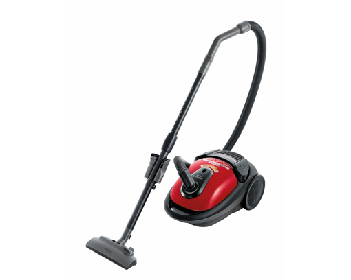 Picture of HITACHI Vacuum Cleaner 1800 Watt In Red x Black Or White x Black Color with nano titanium filter CV-BA18