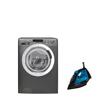 Picture of Bundle : ( HOOVER Washing Machine 8 Kg DXOA38AC3R-ELA ) + ( TORNADO Steam Iron TST-2200 )