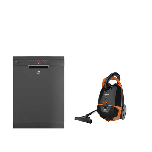 Picture of Bundle : ( HOOVER Dishwasher For 13 Person HDPN1L360PA-EGY ) + ( TORNADO Vacuum Cleaner TVC-1600M )