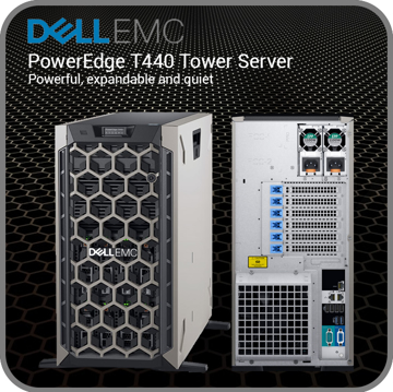 Picture of Dell-Power Edge T440 Tower Server