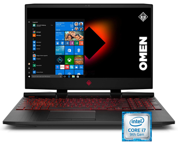 Picture of HP OMEN 15 Intel Core i7 GTX 1660Ti