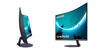 """Picture of Samsung Curved FHD Monitor 32"""" - LC32T550FDMXZN"""